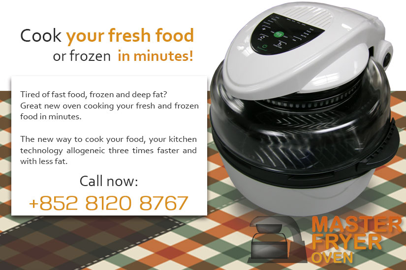 Master Fryer Cooking in minutes