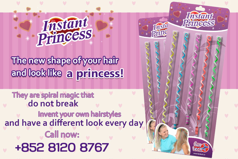 Instant Princess The new shape of your hair