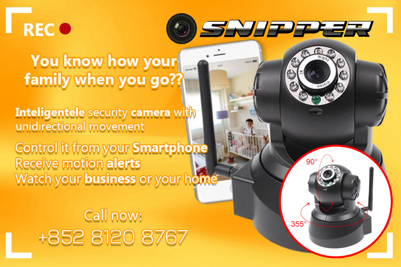 Snipper Intelligent security camera