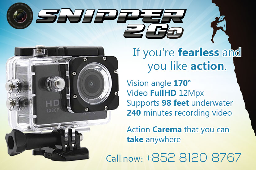 Snipper 2Go Action camera